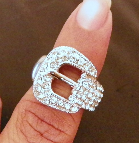 rhinestone belt buckle ring this one is pretty