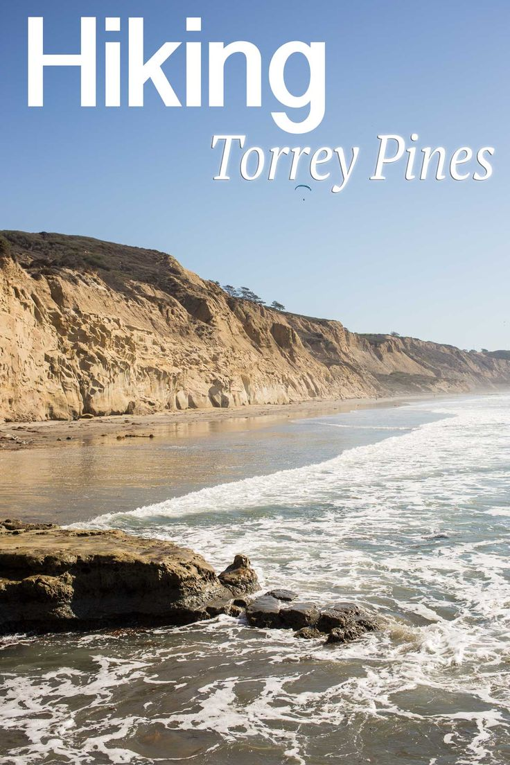 Torrey Pines State Reserve: Hiking Razor Point, Yucca Point & the Beach Trail--I did this hike on the beach trail with my brother & his family, down to the beach.