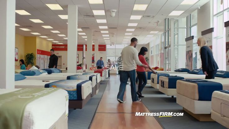 AbanCommercials: Mattress Firm TV Commercial  • Mattress Firm advertsiment  • Sleep Train Hawaii joins the family! • Mattress Firm Sleep Train Hawaii joins the family! TV commercial • It's the Grand Opening Sale at Mattress Firm. Visit any of our Mattress Firm locations and save up to $400 storewide and sleep interest free as we celebrate Sleep Train saying goodnight and waking up as Mattress Firm.