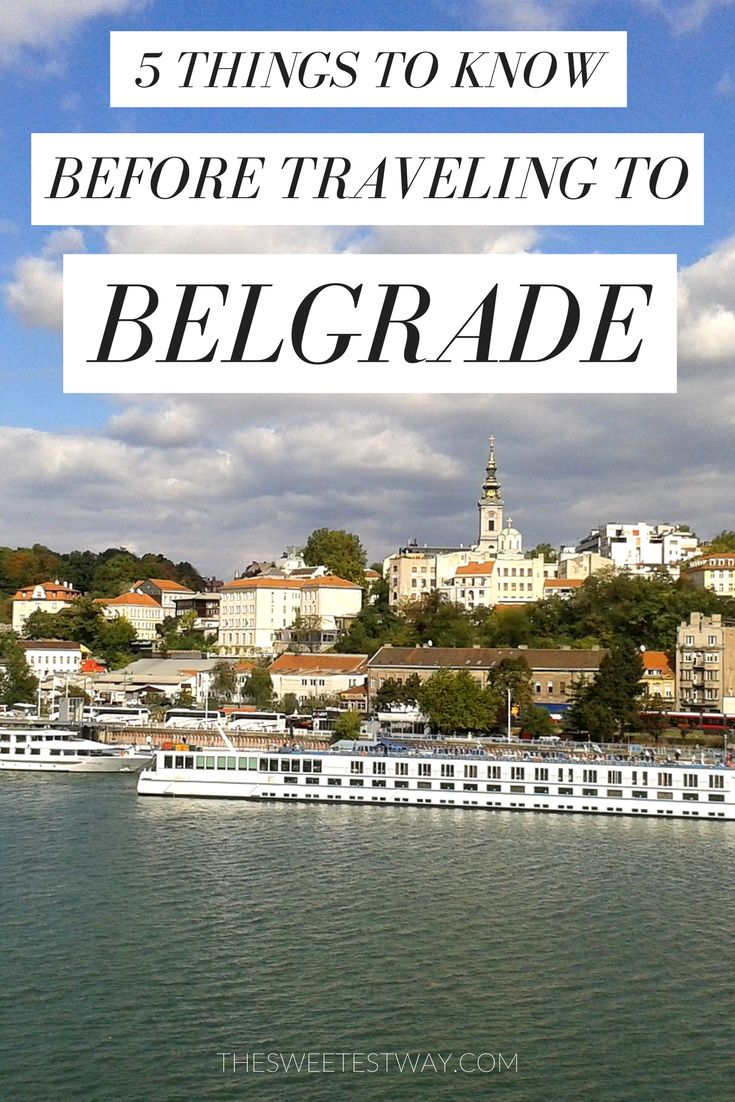 Traveling to Belgrade, Serbia? Here are 5 things I wish I knew before visiting myself. Belgrade travel tips!