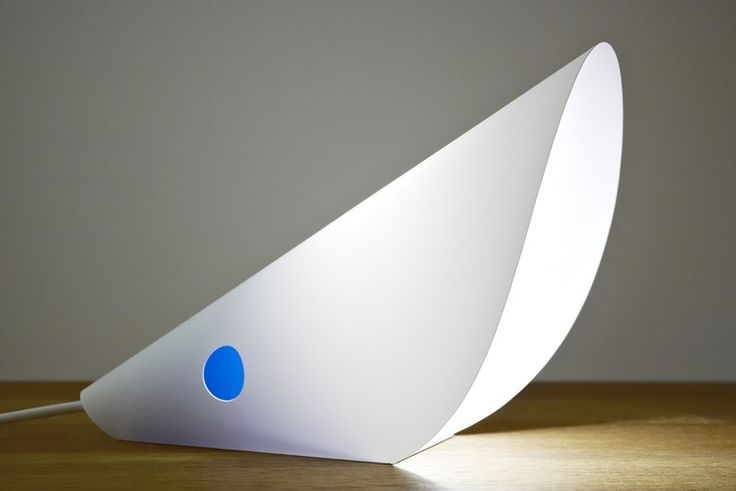 White MOUSE lamp by FLAPO