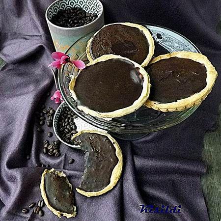 Mini pitetorták kávés ganache-krémmel Recept képekkel -   Mindmegette.hu - Receptek