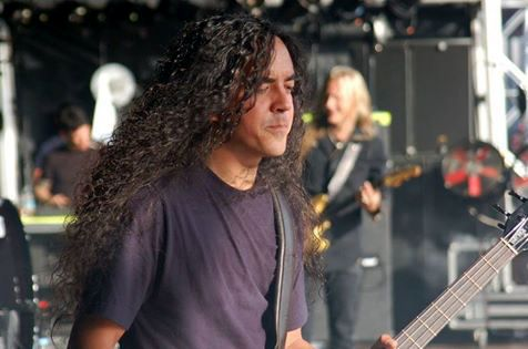 Mike Inez, Jerry Cantrell in the back