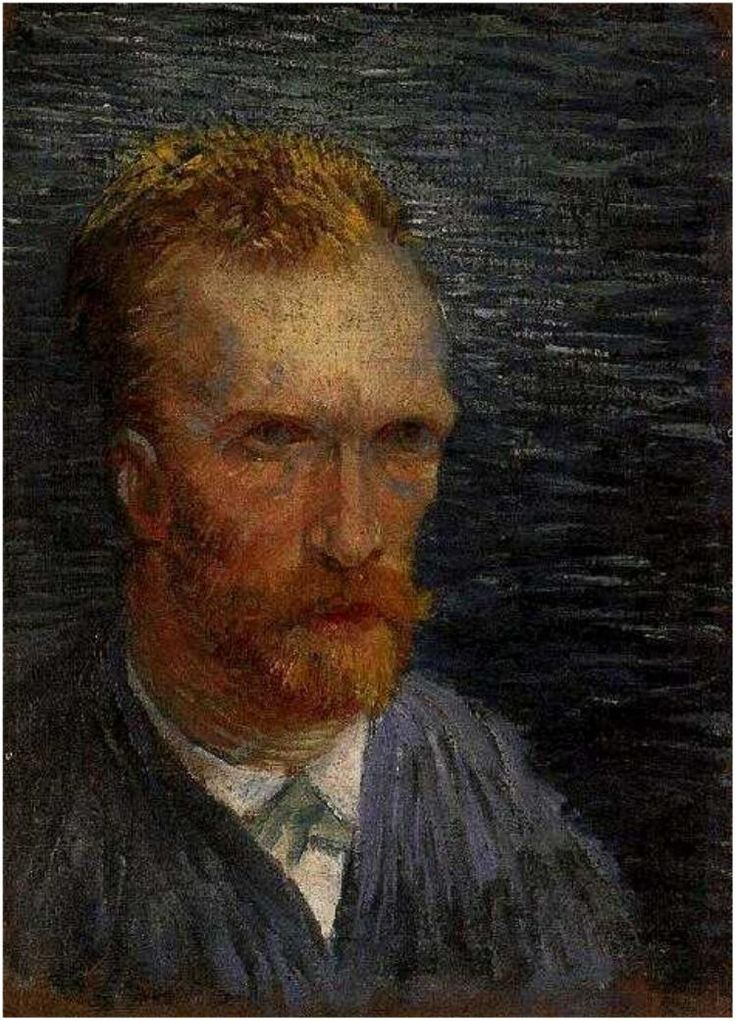 Vincent van Gogh Painting, Oil on Canvas Paris: Summer, 1887 Van Gogh Museum Amsterdam, The Netherlands, Europe F: 109v, JH: 1303  Van Gogh: Self-Portrait Van Gogh Gallery