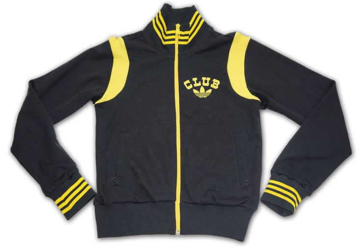 Retro Adidas Club Track Jacket.