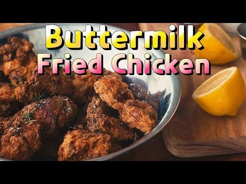 Buttermilk Fried Chicken Recipe From The Chef Show Roy Choi Eng Esp Kor Sub Youtube In 2020 Buttermilk Fried Chicken Chef Shows Fried Chicken Recipes
