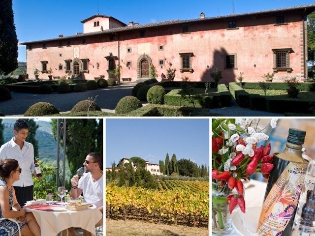 Degustazione Vini in Toscana: Agriturismo Vignamaggio - Numero ...