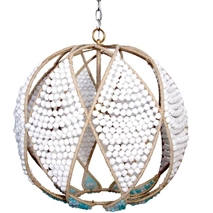 Adelaide Chandelier by Ro Sham Beaux Call to inquire about other bead selections