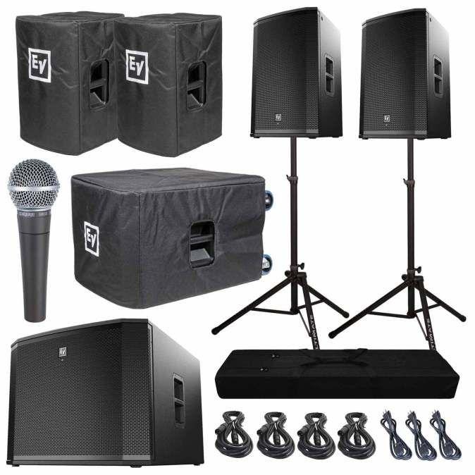 dj speaker packages