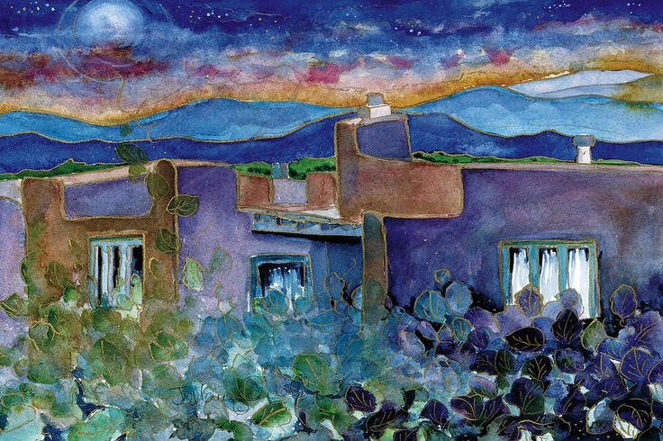 Desert Adobe, by Jill Louise Campbell