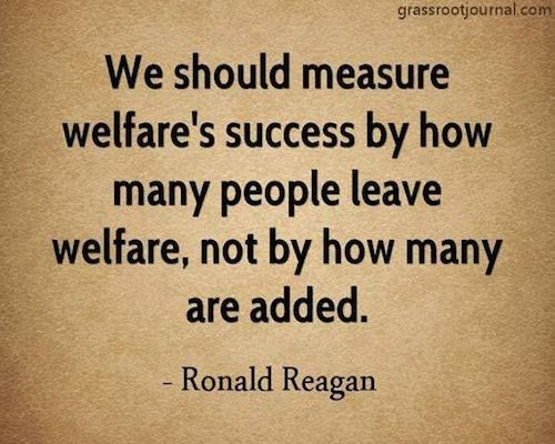 I definitely do NOT agree with all of this man's legacy but still… This is wisdom… Now if we could just stop blaming the welfare recipients at the low end and concentrate on those receiving welfare at the top.