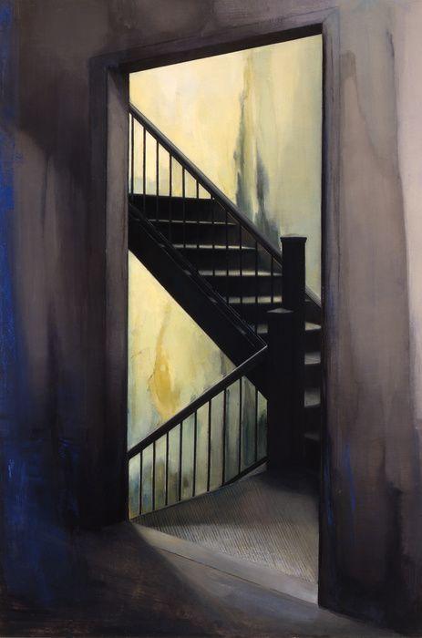 Stairwell by Sharon Sprung