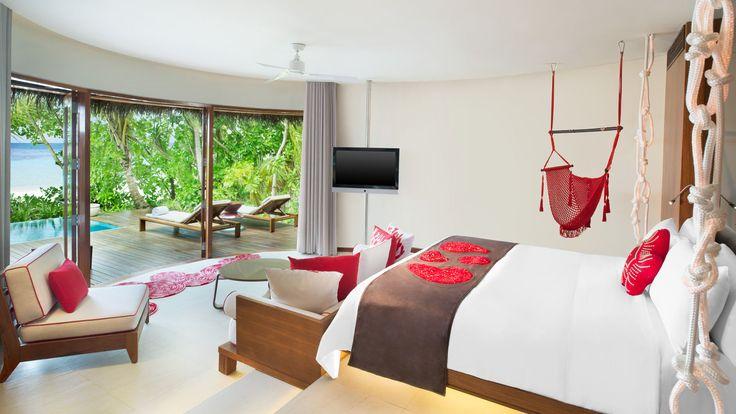 W Maldives Retreat & Spa - guestroom