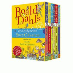 Gift Guide: Under $50 for Babies and Kids // Roald Dahl's Scrumdidlyumptious Story Collection #theeverygirl