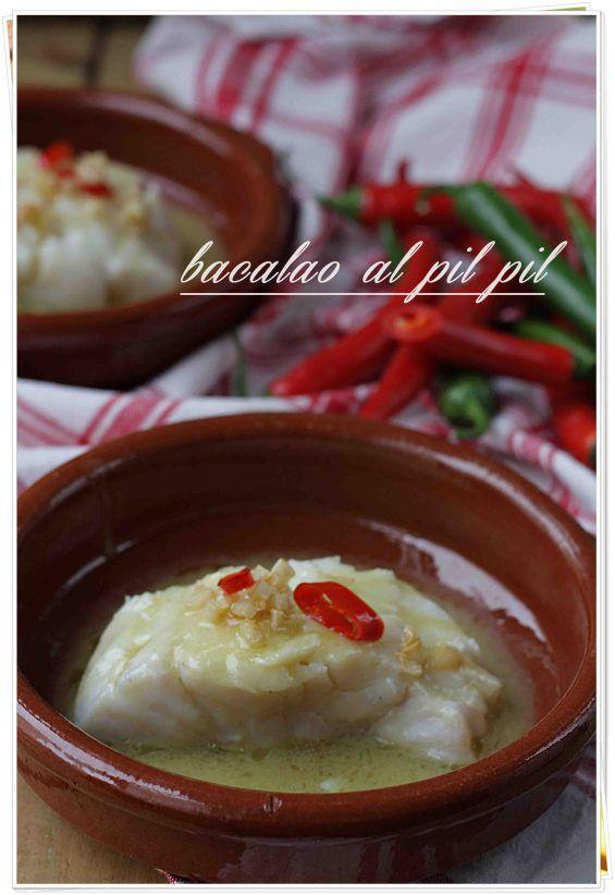 Bacalao al pil pil {by Paula, Con las Zarpas en la Masa}