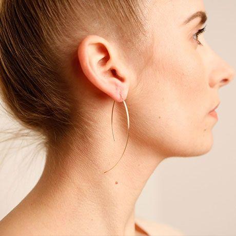 Wire Arc earring (by boe)