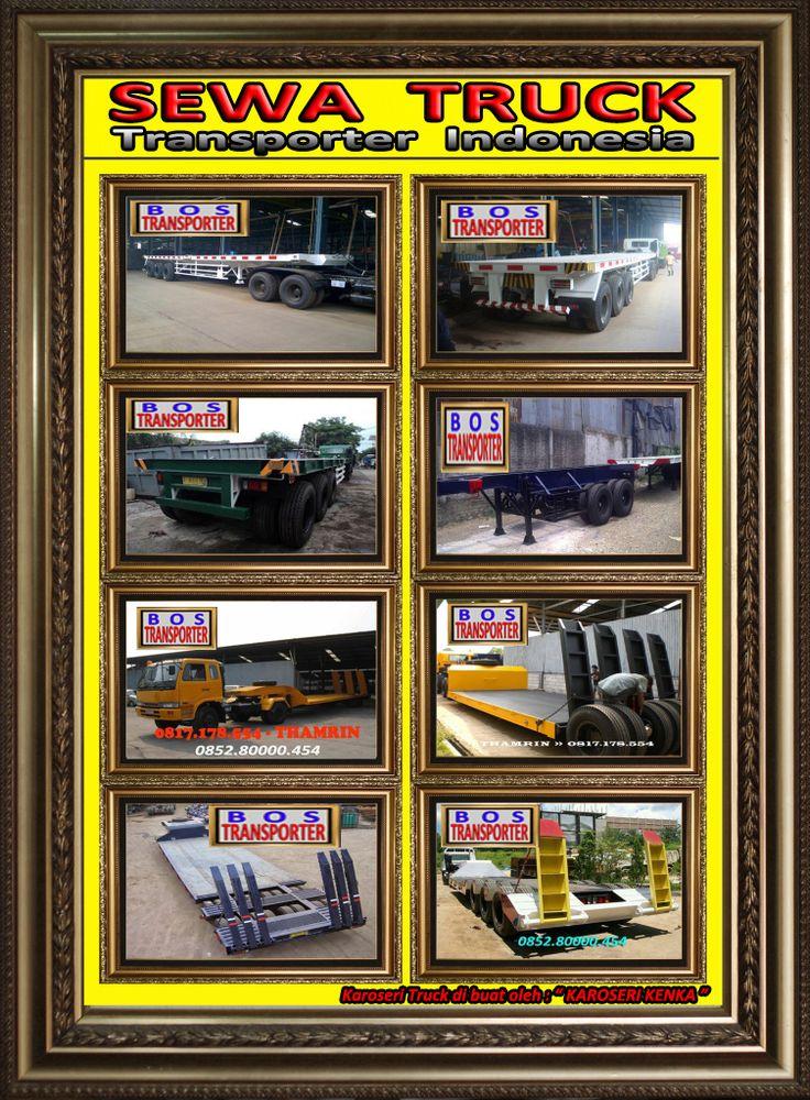 AMAT DATANG ...DI RENTAL dan SEWA TRUCK INDONESIA ... TRAILER - DUMP TRUCK - WINGBOX - BAK CARGO - BOX JUMBO : : . .. . : : SEL