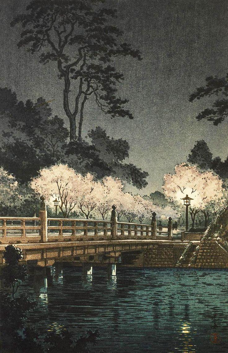 Tsuchiya Koitsu, Benkei BridgeJapanese Art, Koitsu Tsuchiya, Japan Art, Art Misc, Koitsu Benkei, Art Eastern Japanese Koitsu, Asian Art, Tsuchiya Koitsu, Benkei Bridges