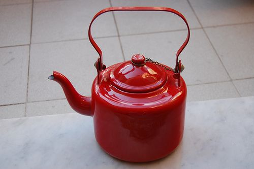 Red Tea Kettle ~ Best tea kettle images on pinterest