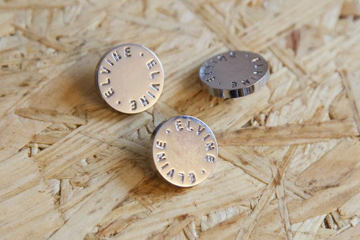 Buttons for Swedish clothing brand Elvine