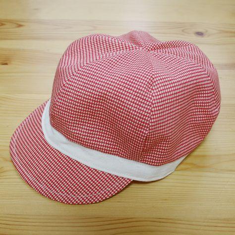 baby hat tutorial - free pattern 型紙無料ダウンロード(ベビー用キャスケット帽子)~ハンドメイドのココロ(新米ママの手芸&グルメ)