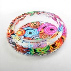 Colored Crystal VasesCrystals Crafts, Crystals Vases, Beautiful Crystals, Colors Crystals