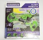 Thames & Kosmos Engineering Makerspace Alien Robots Model Kit. New Sealed  #Educ…