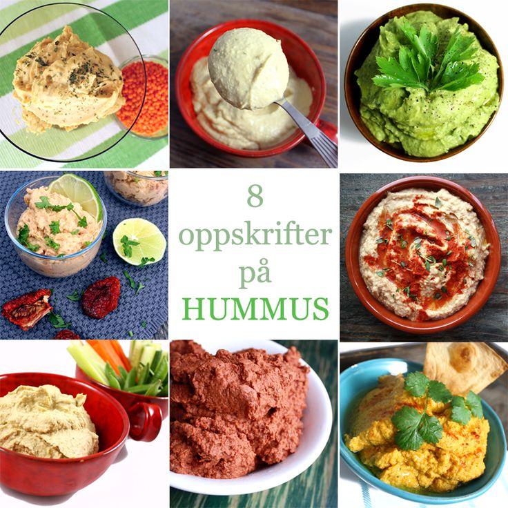 Oppskrift Beste Hummus Hjemmelaget Sunn