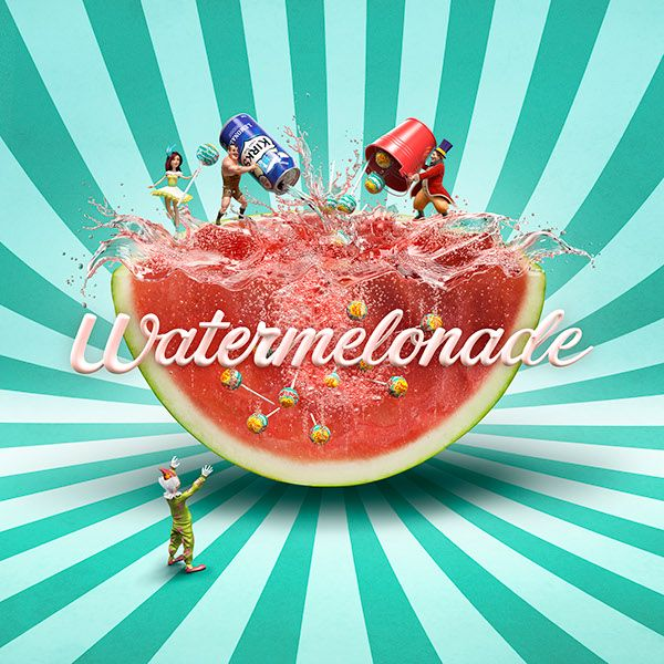 ... design kirks watermelonade kirks watermelonade on behance kirks cream