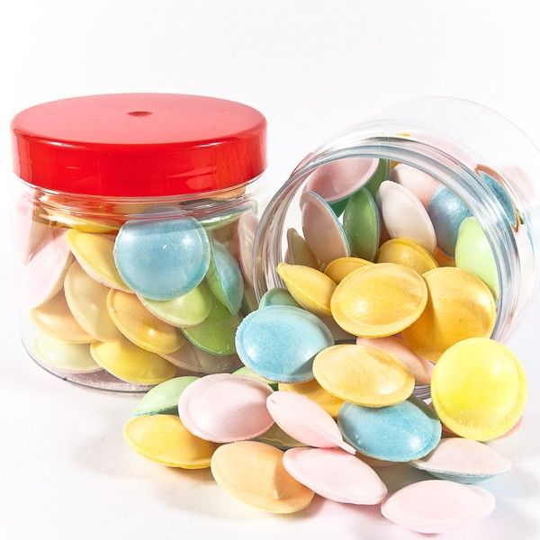 Flying Saucers Retro Sweets available in Sweet Bags, Sweetie Jars and Retro Sweet Hampers