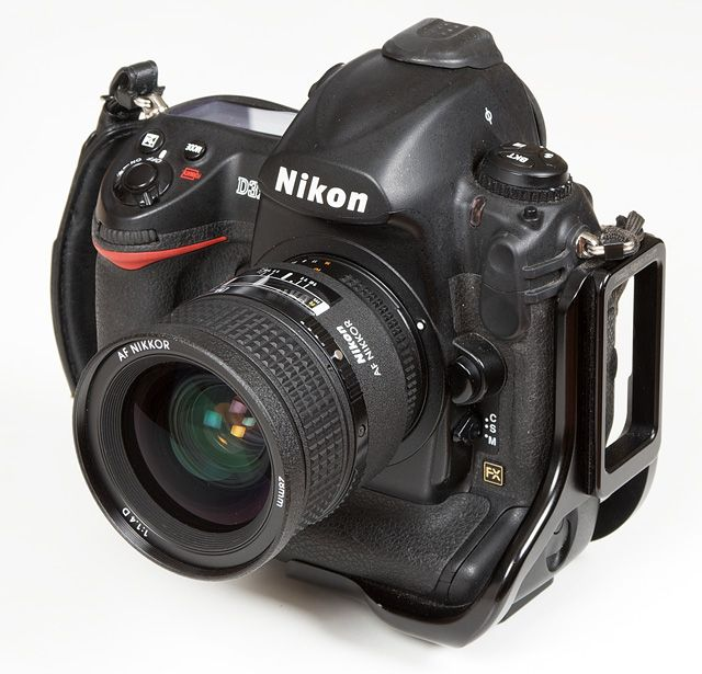 the Nikon D3x