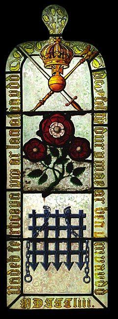 Tudor Window, St. Gredifael's Church, near Penmynydd, Isle of Anglesey