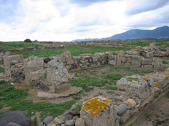 Tempio di Eshmun-Esculapio (Nora). Sardinia. Italy. Punic Fennicia.