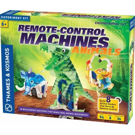 Thames and Kosmos Remote-Control Machines: Animals Science Experiment Kit - Walmart.com
