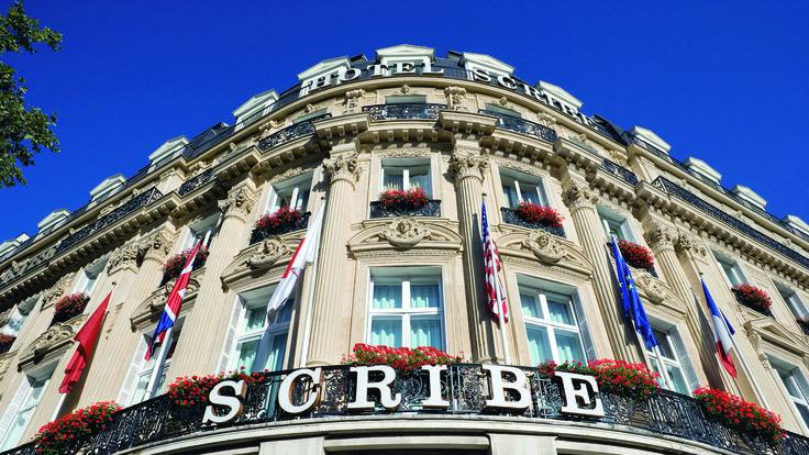 Luksushotell i Paris, Hotel Scribe.