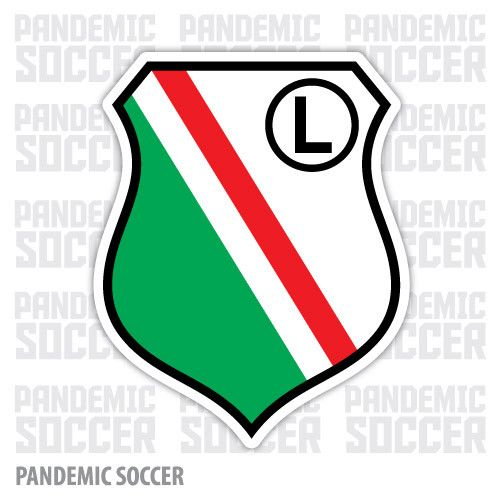 Legia Warsaw Poland Vinyl Sticker Decal