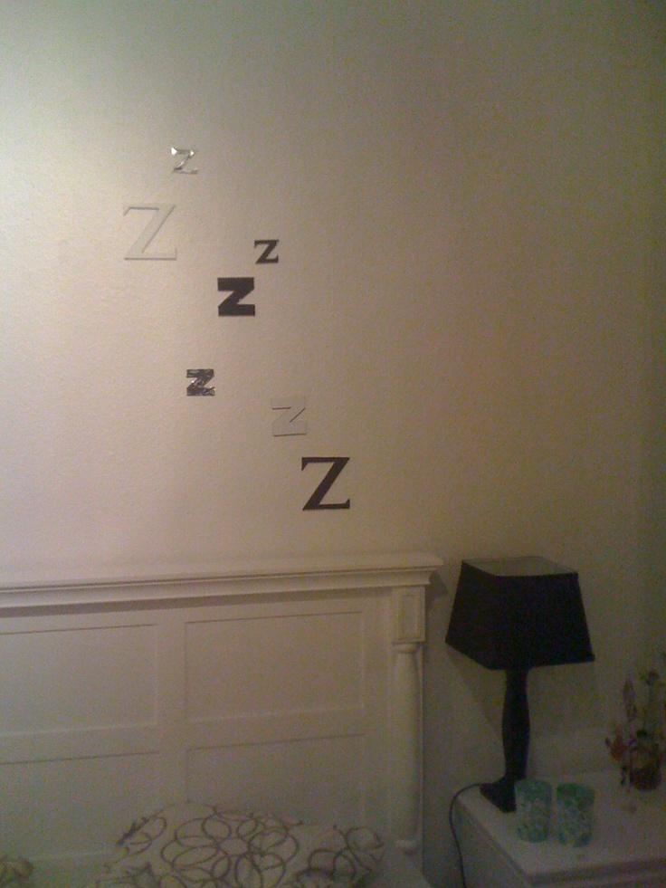 Bedroom, wallart, Sleep, wall