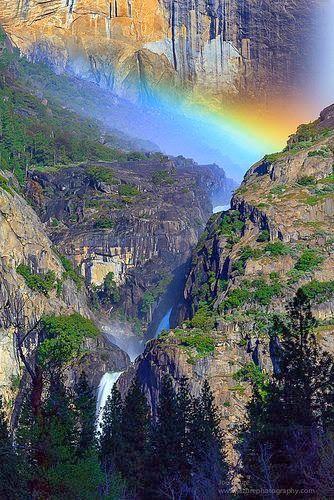 Yosemite National Park  of California.