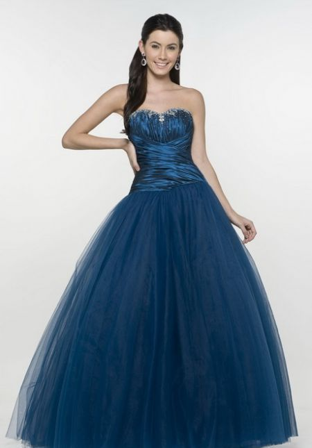 Cool Navy ball gowns 2018-2019
