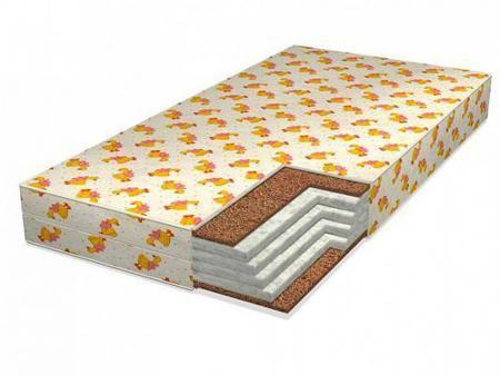 Матрас 120x60см Giovanni Baby Holl Hard  — 3800р. -------------- Бренд: Giovanni, Тип: Матрас, Основа: беспружинный, Наполнитель: кокосовое волокно, Цвет: рисунок