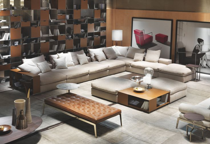 Groundpiece Sectional sofa by Flexform | STYLEPARK | Diana | Pinterest | Sofas Sectional sofas and By : flexform sectional sofa - Sectionals, Sofas & Couches