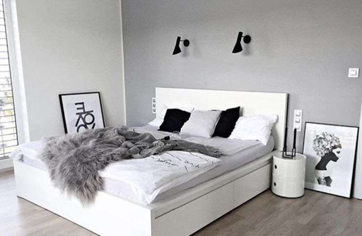 Scandinavian Design Bedroom, Kartell, Ikea Malm
