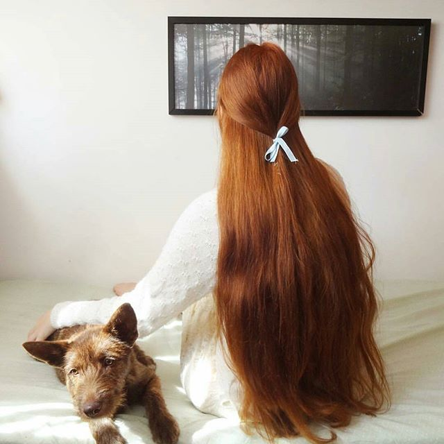 O cabelo lindo da @jeg.faller (Majirel 7.4+ox30) #ruiva #ruivostumblr #redhead #amoracobreado #gingers #redhair