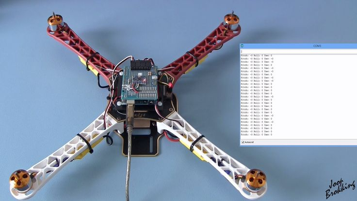 YMFC-AL - Build your own self-leveling Arduino quadcopter - with schemat...