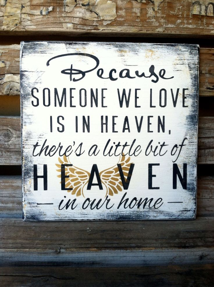 Sympathy Gift, Memorial Shelf Sitter, Condolence Gift, Gold Angel Wings, Someone is in heaven by InfiniteLoveDesign on Etsy https://www.etsy.com/listing/179228438/sympathy-gift-memorial-shelf-sitter