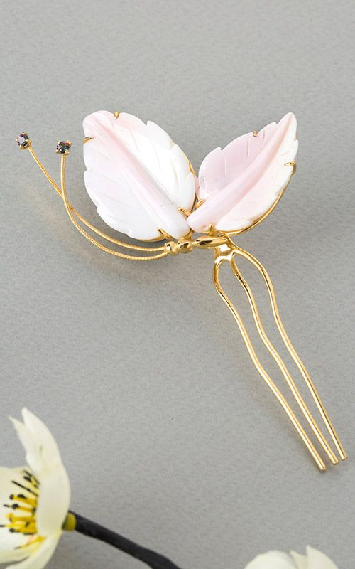 Korean Traditional Hairpick by NASCHENKA
