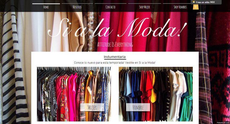 Si a la moda Indumentaria, Visita nuestra pagina web en http://sialamoda.wix.com/indumentaria
