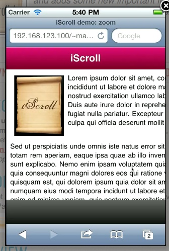 The best scroll, slide, swipe, pinch zoom plugin! Must use for any HTML5 project!