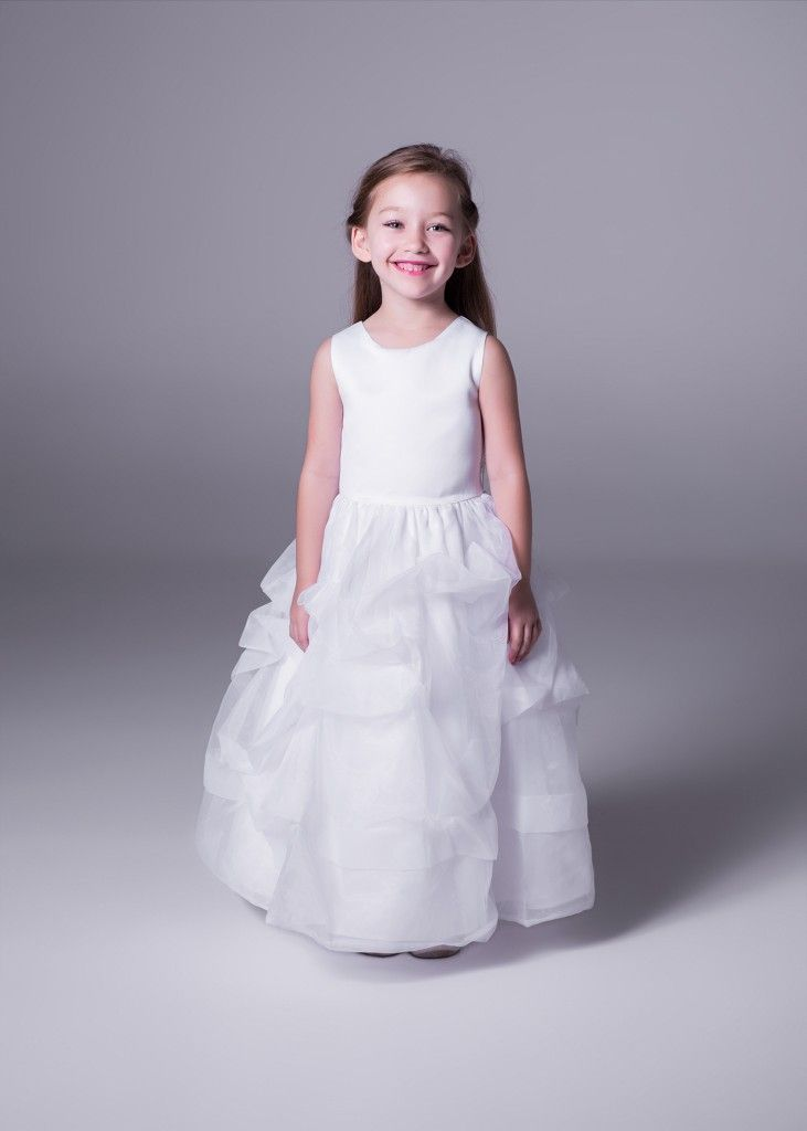 Flower girls need to feel like princesses too. Bride&co offers a collection of Petite Princess flower girl dresses.