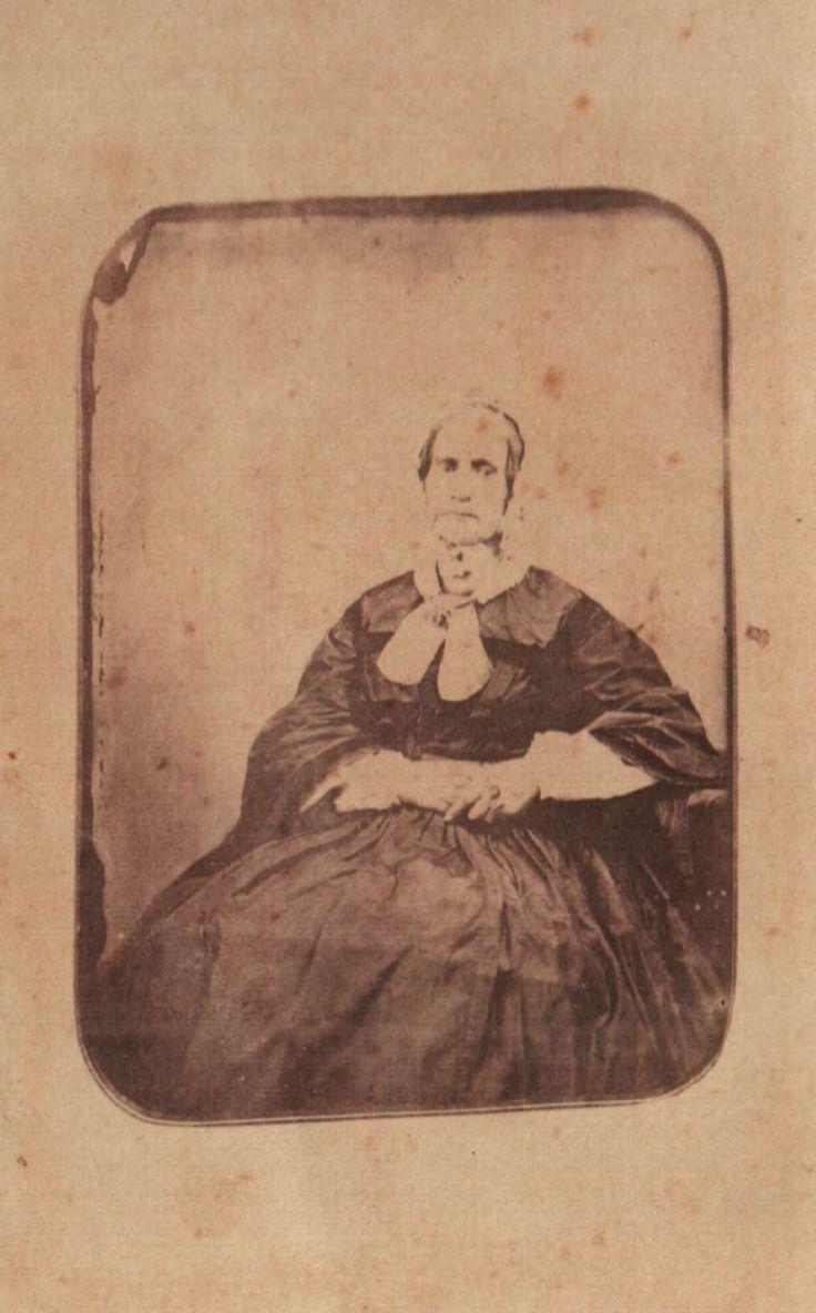 Aganitha Maritz, the widow of Voortrekker leader Gerrit Maritz